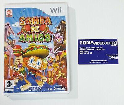Samba de Amigo, Nintendo Wii, Pal-Esp. Nuevo.