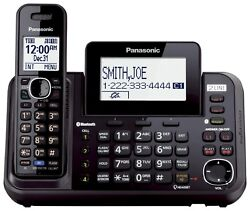 PANASONIC KX-TG9541B 2-Line Cordless, Link to Cell, USB Answering System