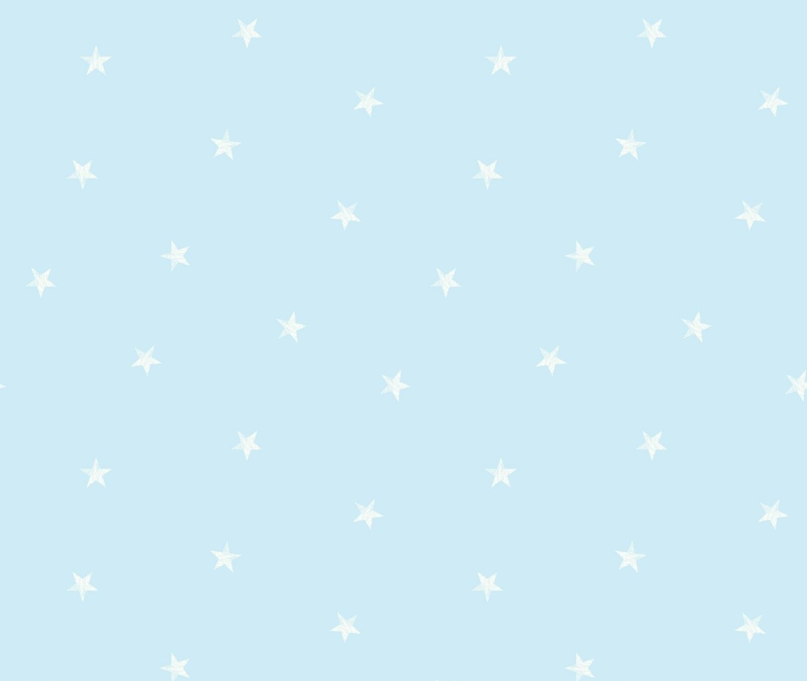 blue white stars childrens boys girls kids nursery baby wallpaper