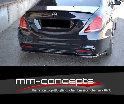 CUP Heckansatz CARBON für Mercedes S-Klasse W222 AMG Line Heckschürze Bumper
