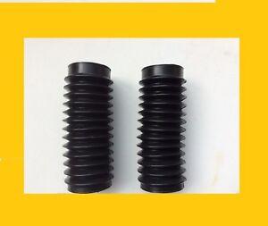 honda ss125a cl125a cl160 cl175 pair boot fork gaiter rubber ***brand new*