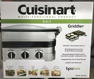 Cusinart 5-in-1 Griddler (panini maker)