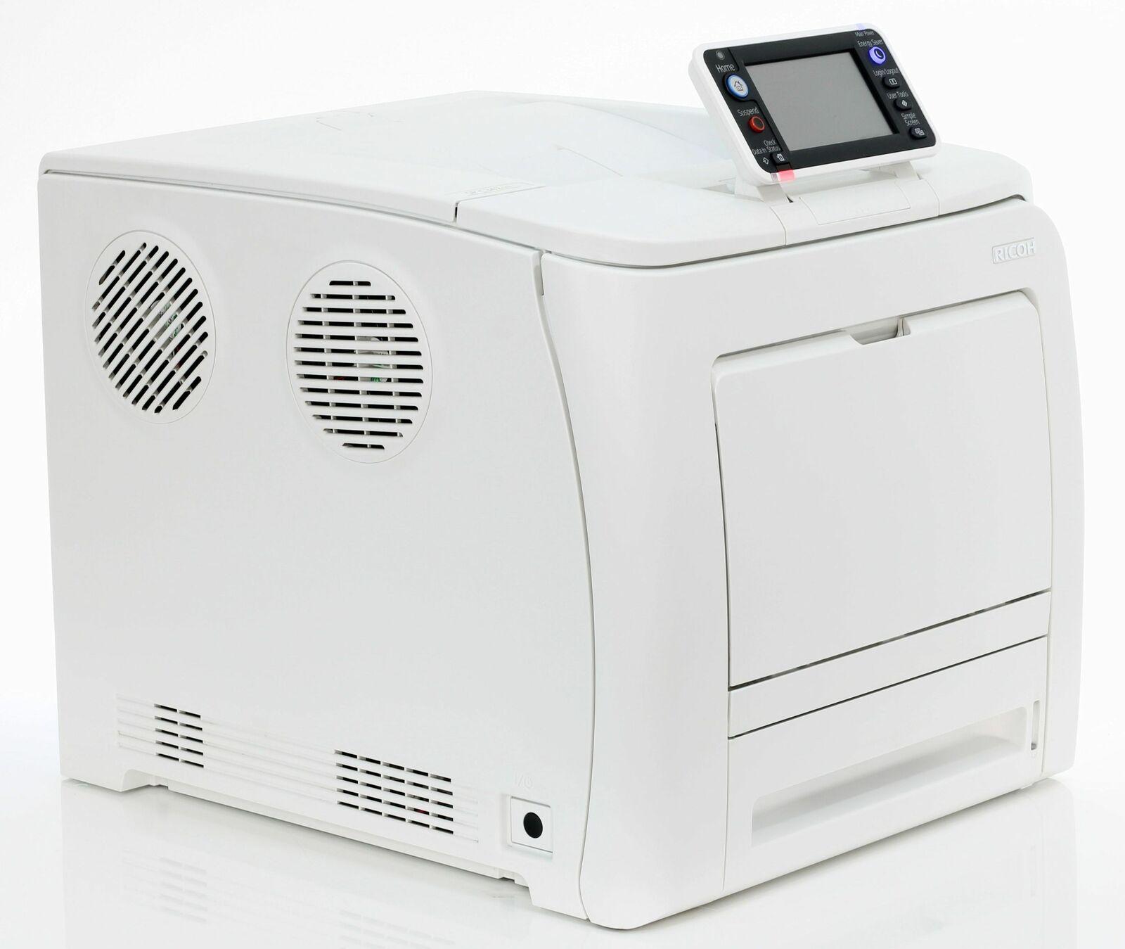 Ricoh aficio sp c342dn imprimante réseau & duplex laser seulement 20.000 pages