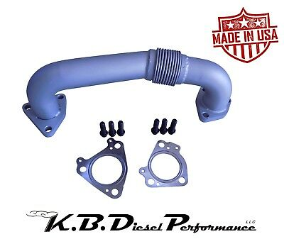 Drivers Side Exhaust Up Pipe Manifold to Turbo 6.6l Duramax Chevy GMC 2001-2016