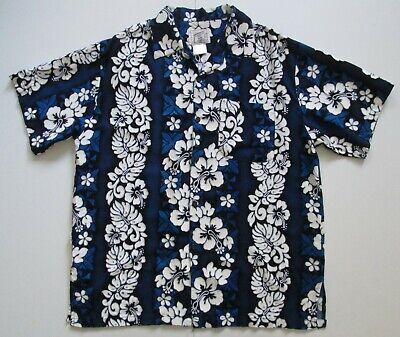 "Vintage Auth Coconut Pier USA Hawaiian Shirt 47""-122cm L (143H)"