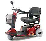 Lightly USED 2005 Guardian Trek 3 Scooter (Red)