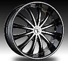 Mustang Black Rims Tires