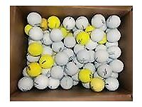 50 GOLF BALLS assorted/used Titliest, Calloway etc.