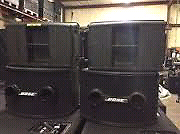 Bose 802 series II Panaray speakers and cases Fitzroy Yarra Area Preview