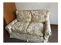 Two-seater duvet sofa, very comfy and soft, washable cover