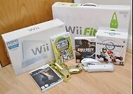 Ideal Xmas - Nintendo Wii, Controllers, Games, Wii Fit, Golden Gun, Mariokart Steering Wheel