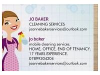 Jo baker cleaning services