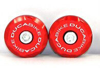 DUCABIKE M696 M796 M1100 Frame Plugs Kit - Red - New
