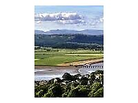 static caravan lake district cumbria arnside silverdale