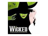 Wicked....Showing at the Apollo Theatre London Victoria