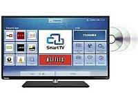 Toshiba 40 inch LED Smart TV With Inbuilt DVD Player