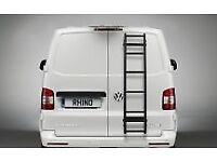 Brand new Rhino rear door six step ladder R1 for small van. Still in box.