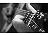 Guitarist available for guitar, saxophone, ukulele and Bass Lessons - Mobile Service in Lanarkshire
