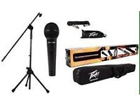 Peavey PVi100 Microphone & Stand Accessory Pack