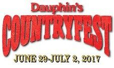 2 Dauphin Country Fest weekend passes
