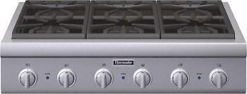 "Thermador 36"" Pro-Style Stainless Steel Gas Rangetop 6 Burner PCG366G  on Rummage"