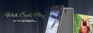 """LG Stylo 3 @ 199.99 $ & LG Stylo 3 PLUS @ 229.99 $ - All Brand New,Unlocked w/Warranties """"Buy from a Store"""" - 4 Stores"""