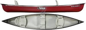 New Pelican Explorer Deluxe Canoe Used Once