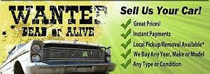GET CASH FOR YOUR SCRAP CAR!!!!