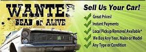 Buying unwanted and scrap vehicles