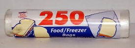 Food Freezer Bags (Discount pack of 10)