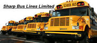 School Bus Drivers Needed-Free Training Provided