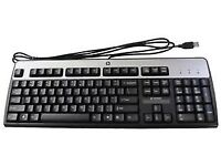 Computer USB Keyboards RRP £25 Brand new No packaging but all keyboards brand new 9 available!