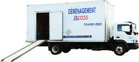 ALL ACCESS MOVING MOVERS WEST ISLAND MONTREAL 514-991-5581