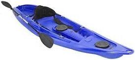 Fatyak Kaafu single Kayak special offer £300.00 including paddle and back rest only 7 left