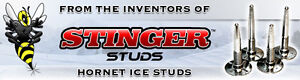 STINGER HORNET studs -   LOWEST PRICE IN CANADA