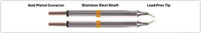 New Thermaltronics M70tz003 Tweezers Cartridge Pair - Micro Fine 0.25mm 0.01