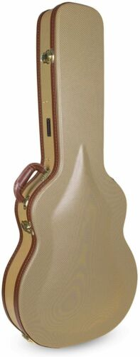 Crossrock Semi-Hollow & Hollowbody 335 Style 6 strings  Electric Guitar Case
