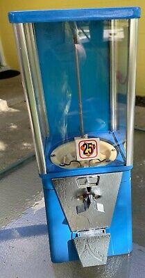 OAK Mfg Gumball 25 Cent DIME Astro Vista 300 CANDY Vending Machine w LOCK No key