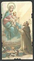 Estampa Antigua Virgen Del Rosario Andachtsbild Santino Holy Card Santini -  - ebay.es