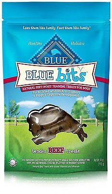 Blue Buffalo Blue Bits Beef Dog Training Treats, 4 oz.