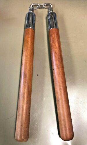 Teak Wood Nunchuckus Brand New Teak Wooden Chucks from the late 70