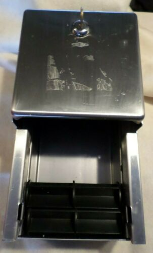 Bobrick 042BM Toilet Paper Dispenser, Steel