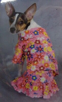 Paw Appeal Daisy Do 2-Piece Floral Dress Dog Costume NEW Fashion to Woof (Daisy Hunde Kostüm)