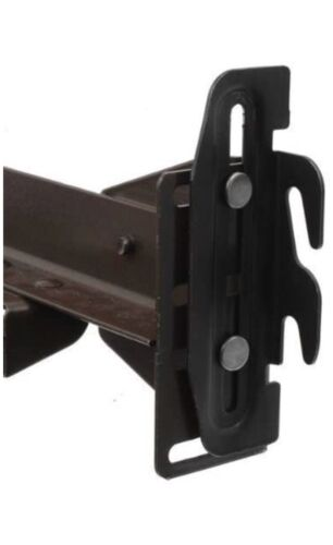 Conversion Bracket Adapter Plate Kit Bed Frame to Headboard or Footboard 4-Pack