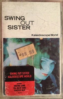 Swing Out Sister Kaleidoscope World Cassette Tape Waiting Game NEW OLD STOCK ()