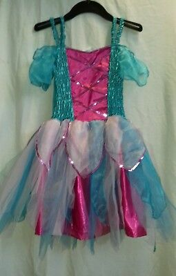 Ballet Costume Peacock Fairy with Detachable Wings Age 9 - 11 VGUC](Peacock Fairy Wings)