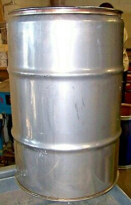 Muller 12.5 Gallon Stainless Steel Tight Head Drum Barrel 100 Reconditioned