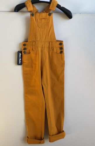 GIRLS TRENDY OVERALL LONG PANTS TWLL COMFY BASIC CLASSIC ONE PIECE KIDS FAVE