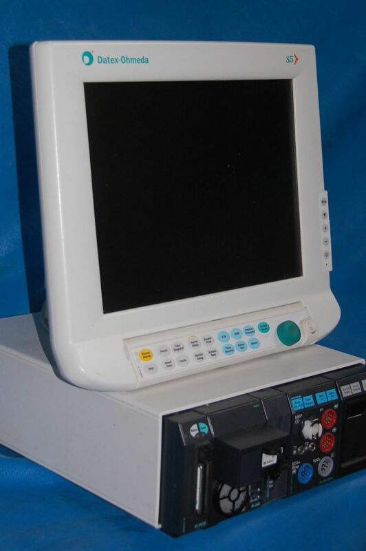 Datex Ohmeda S/5 Flat Screen Anesthesia Monitor - M Series Modules - Biomed Cert
