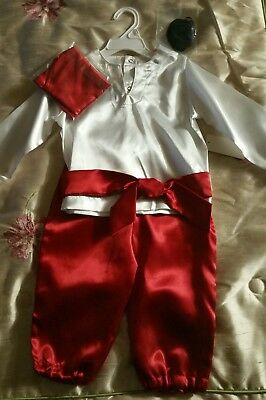 Adorable Baby Pirate Costume 18 Months with Bandana - 18 Month Pirate Costume